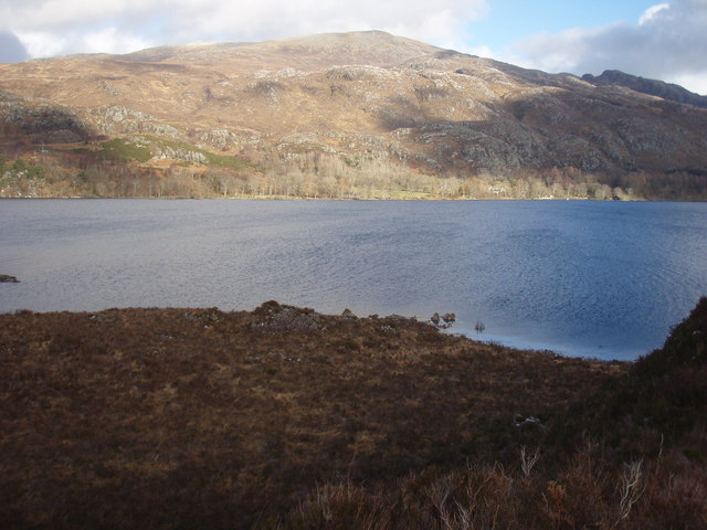 Across Loch Maree to Letterewe