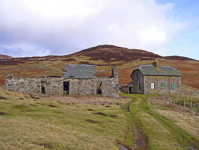 Farm buildings at Braefordie