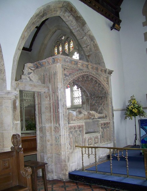 Tomb, St Nicholas Church, Henstridge