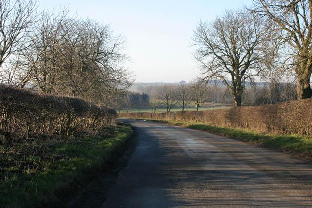 Sproxton Road near Buckminster
