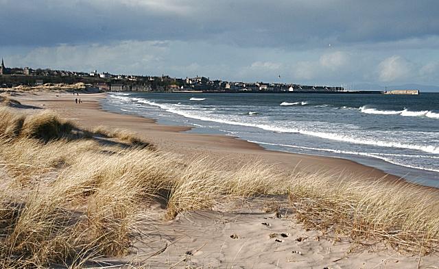 East Beach Sand Dunes