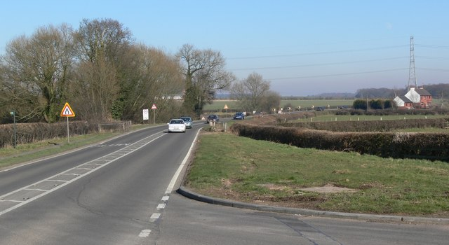 The A47 north of Earl Shilton