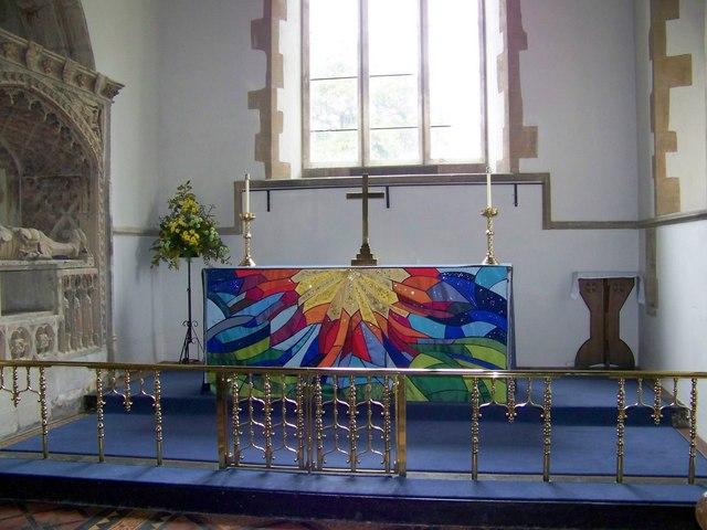 Interior, St Nicholas Church, Henstridge