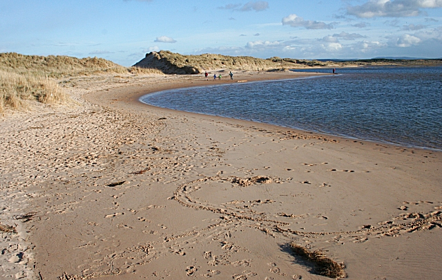 Lossie Estuary and Beach