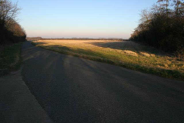 Farmland near Saltby