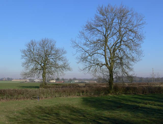 Farmland north of Shilton Road