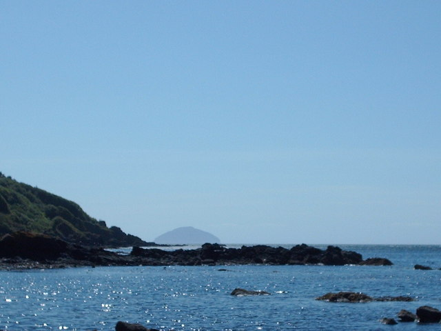 Ailsa Craig From Culzean Shore