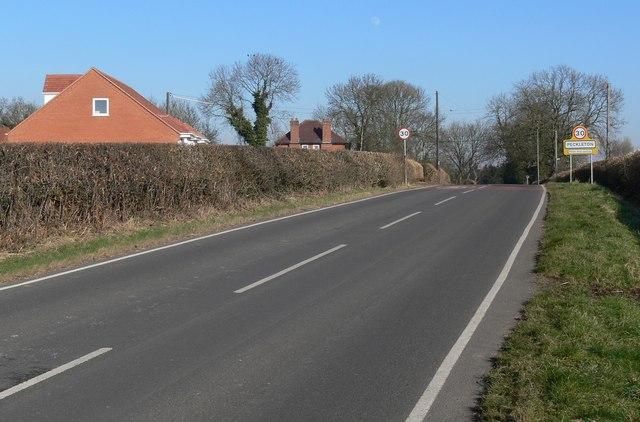 Kirkby Lane towards Peckleton, Leicestershire