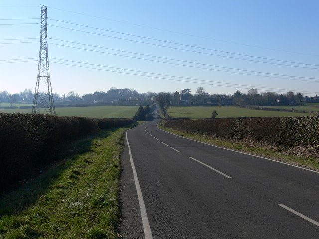 Kirkby Lane towards Kirkby Mallory