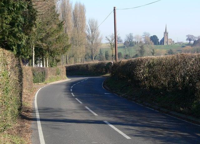 Kirkby Lane near Peckleton, Leicestershire