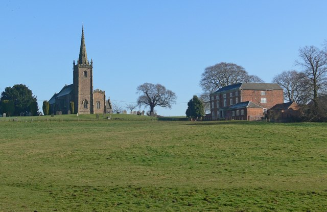 St Mary Magdalene Church and Peckleton Hall