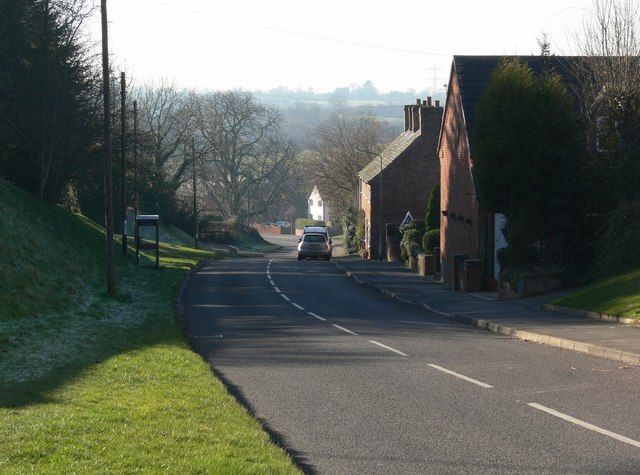 Main Street in Peckleton, Leicestershire