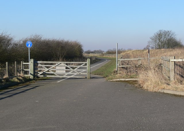 Cycleway towards Desford
