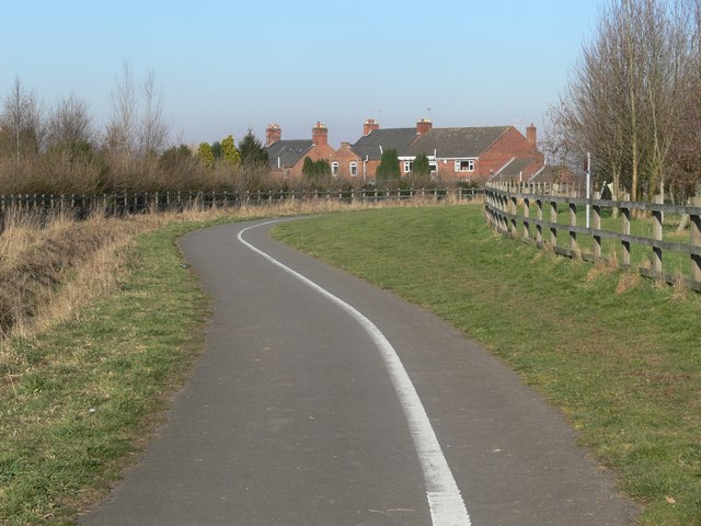 Footpath and cycleway near Desford