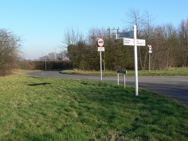 Peckleton Lane near Leicester Forest West