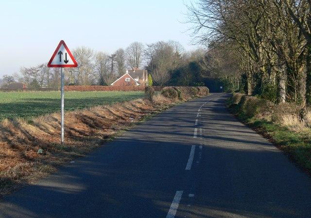 Peckleton Lane, Leicester Forest West