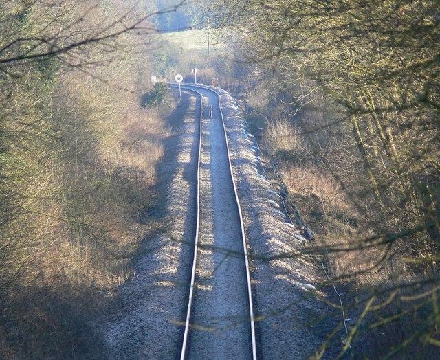 Railway line near Kirby Muxloe