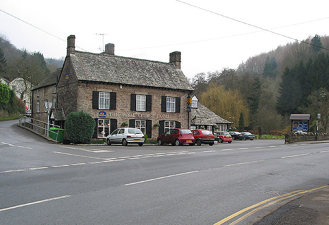 The Royal George Hotel at Tintern