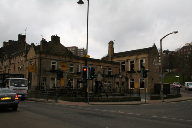 'The Wharf' public house, Sowerby Bridge