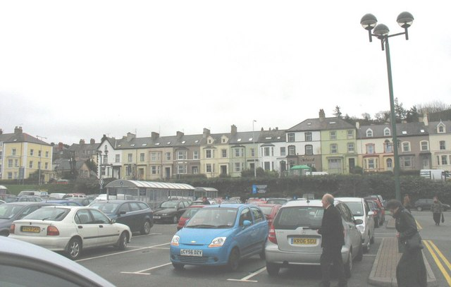 North Road from Wm Morrison's car park