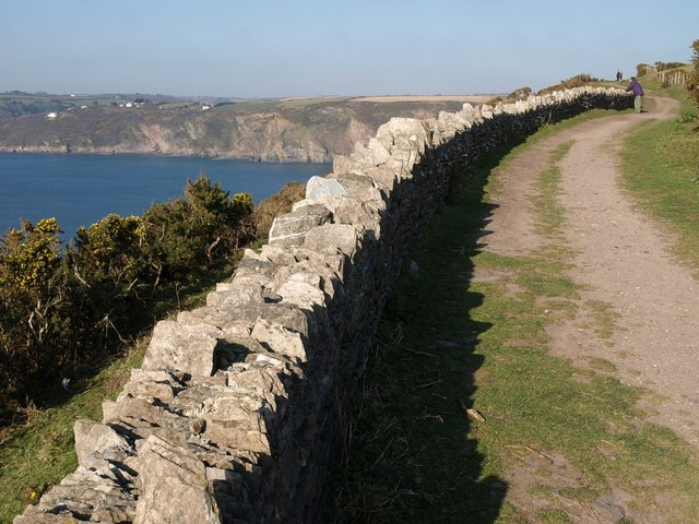 Coast path above Greylake Cove