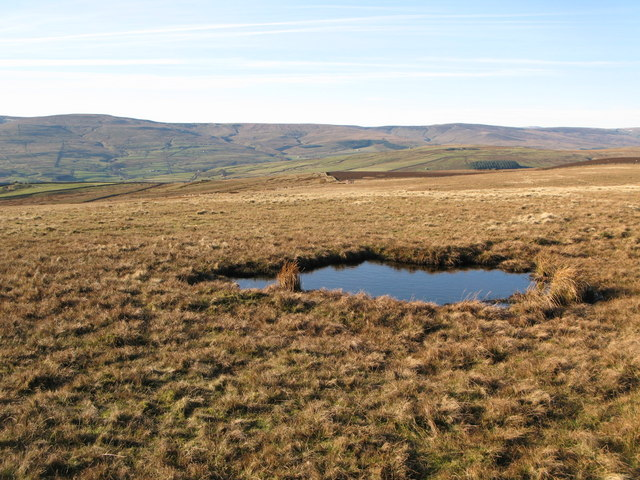 Small lough on Windy Hill