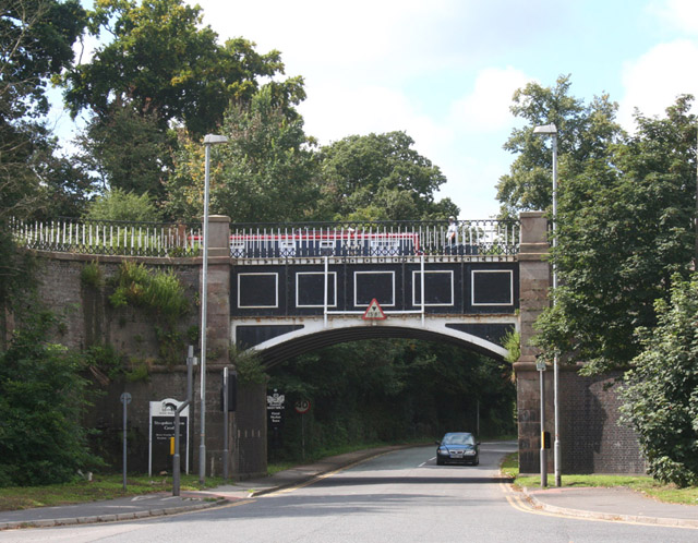 Nantwich Aqueduct, Chester Road: view from east