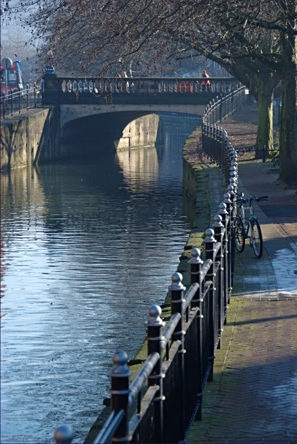 Riverside railings, Lincoln