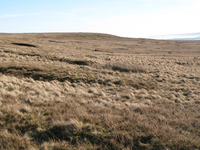 Moorland below Windy Hill and Greenmere Head