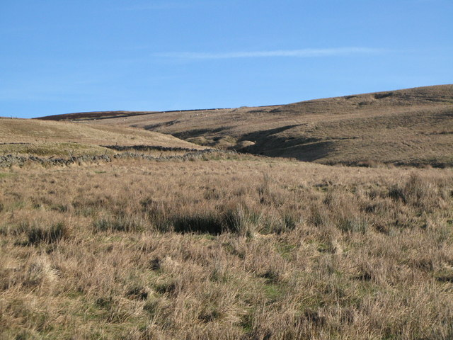 The cleugh of Scar Sike