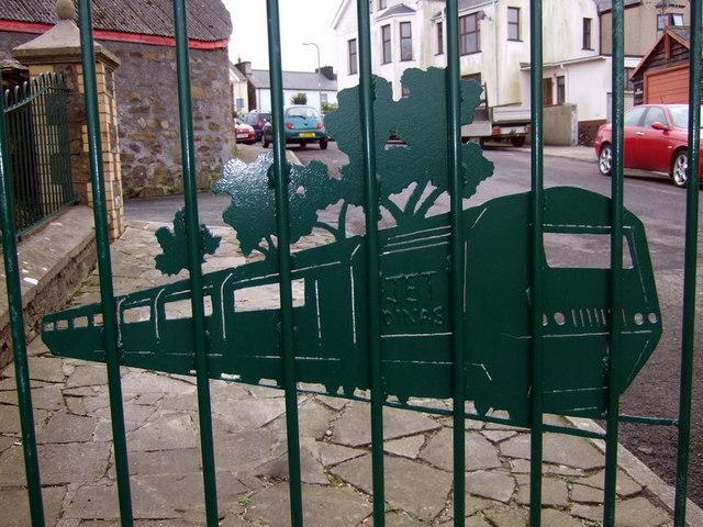 Decorative railings, Lota Park