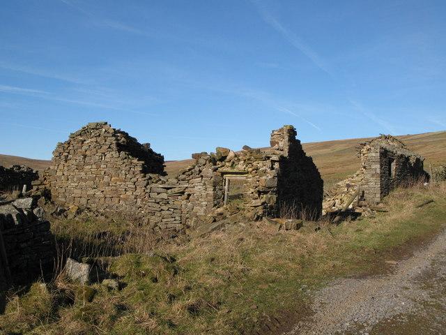 Ruin, Whitley Hills