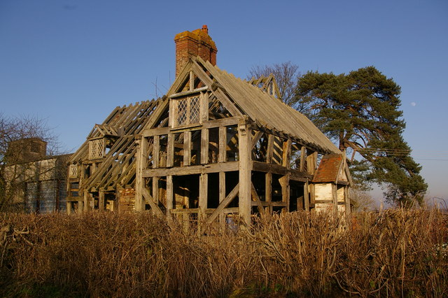 Ruined cottage at Lady Halton
