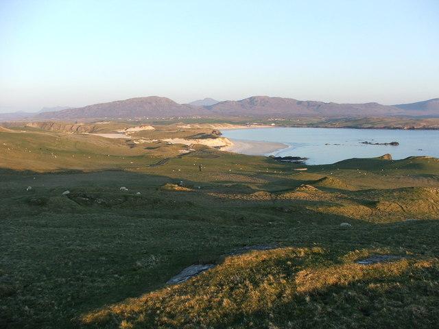 Faraid Head looking towards Balnakeil Bay