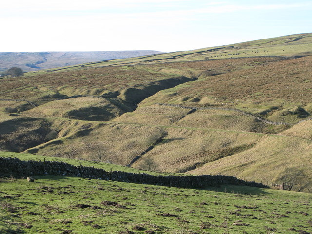 The cleugh of Middlehope Burn (3)