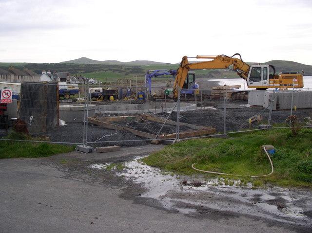 Pump Station Building Site