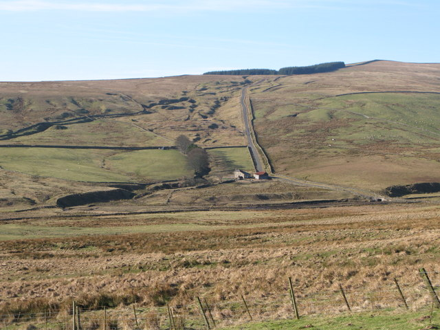 The valley of Middlehope Burn (4)
