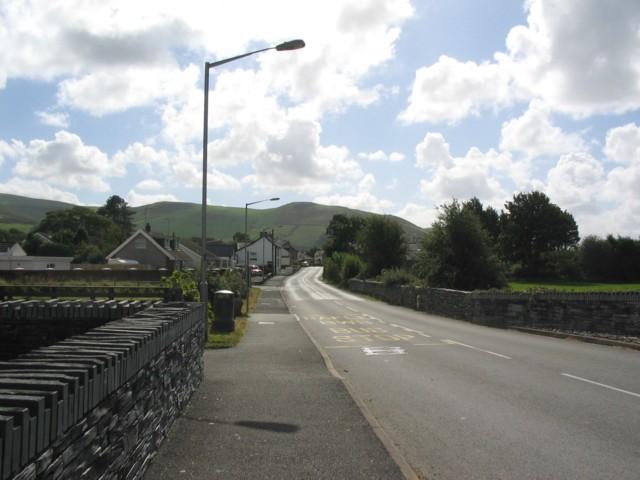 The road to Tywyn