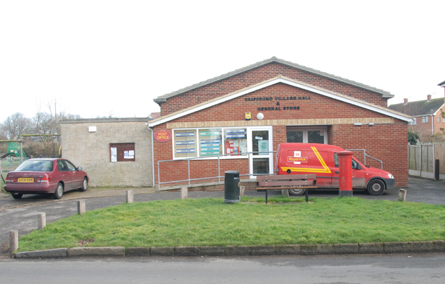 Cliffsend Kent village hall, general store and post office