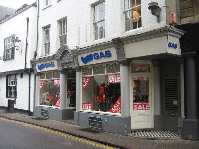 'Gas' - Benet Street
