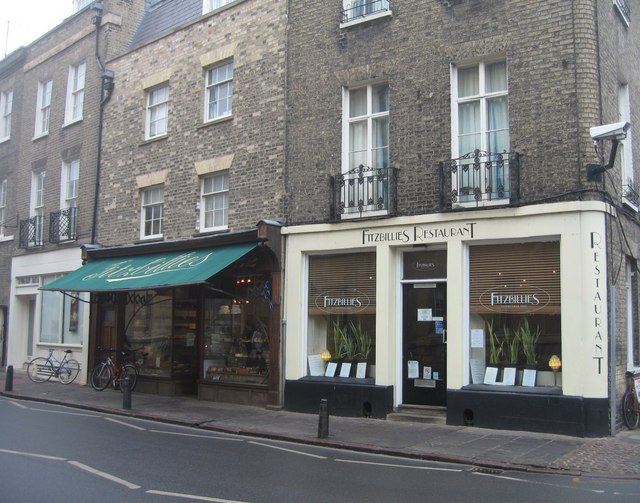 Fitzbillies restaurant