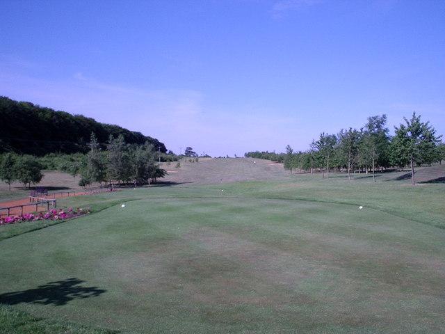 Weybrook Park Golf  Club - Basingstoke - 1st Tee
