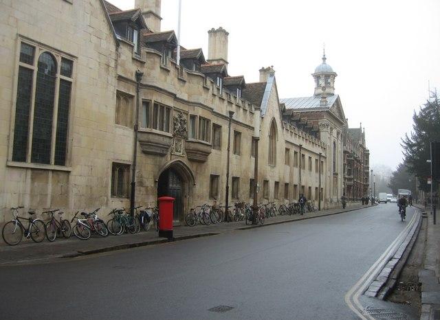 Trumpington Street & Pembroke College