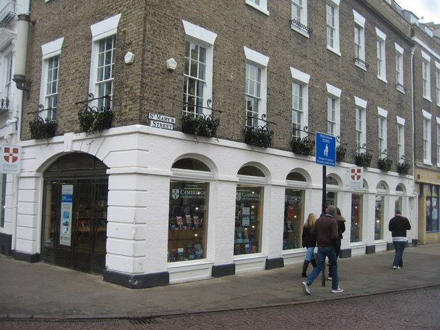 CUP Shop - corner of St  Mary's Street