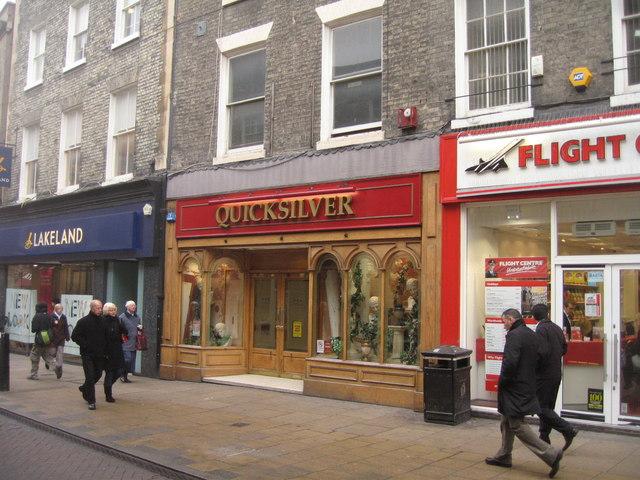 Quicksilver - Sidney Street