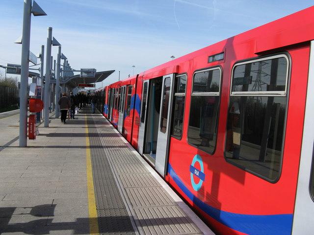 Beckton station, Docklands Light Railway