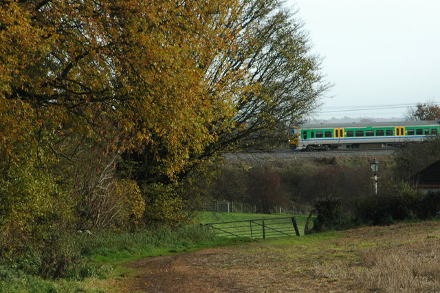 Class 320 on local service from Redditch