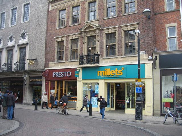 Millets - Sidney Street