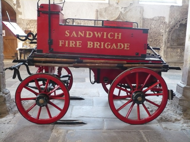 Sandwich Fire Brigade horse-drawn tender