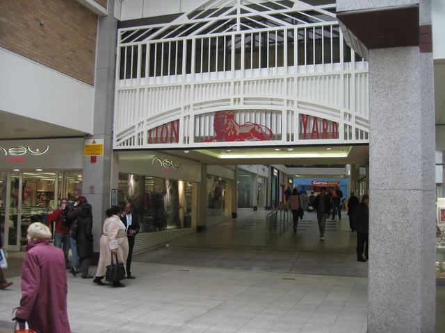Lion Yard entrance